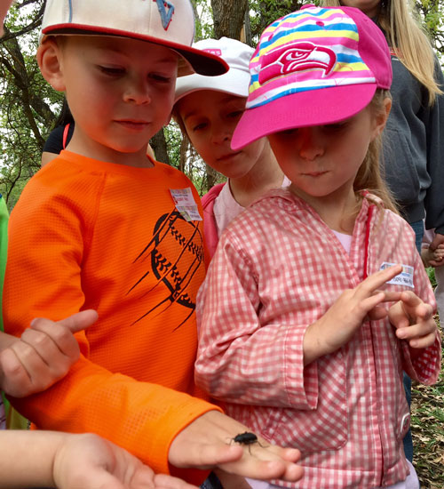 Cowiche Canyon Conservancy Trail Talks Learning Interactive Hands on Program for Kids Snow Mountain Ranch Nature Walks Yakima, WA