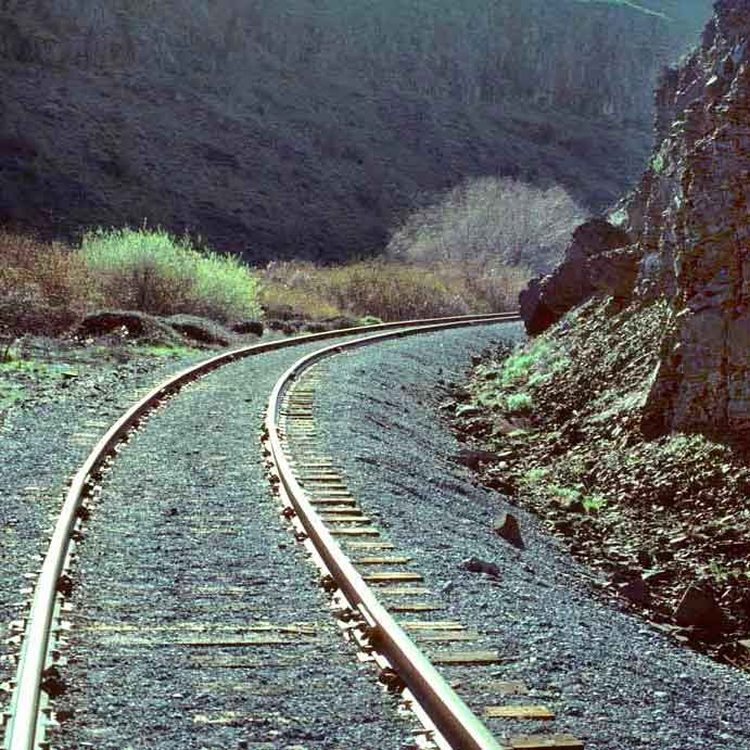 Cowiche Canyon Conservancy Railroad Tracks Hiking Trails Yakima, WA Conservation Photo: David Hagen