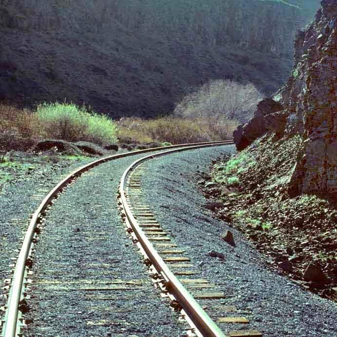 Cowiche Canyon Conservancy Railroad Tracks Hiking Trails Yakima, WA Conservation Photo: David Hagen
