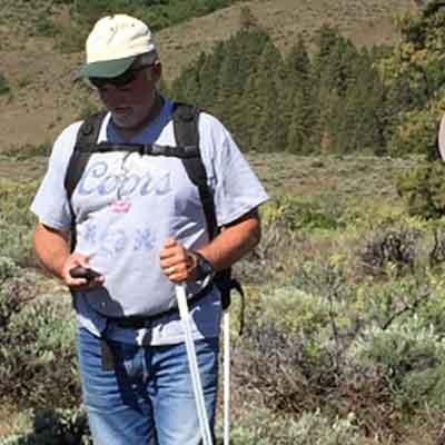 Ted Clausing Land Steward Cowiche Canyon Conservancy Yakima WA