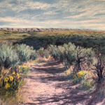 Cowiche Canyon Conservancy Shrub-steppe art gallery Darcie Roberts