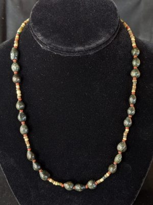 glass & seed bead necklace